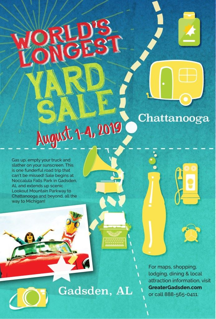 World&#39s Longest Yard Sale