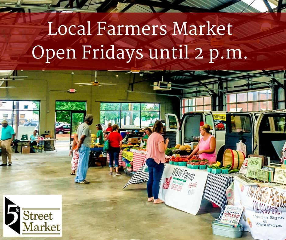 Farmers Market now open until 2 p.m.