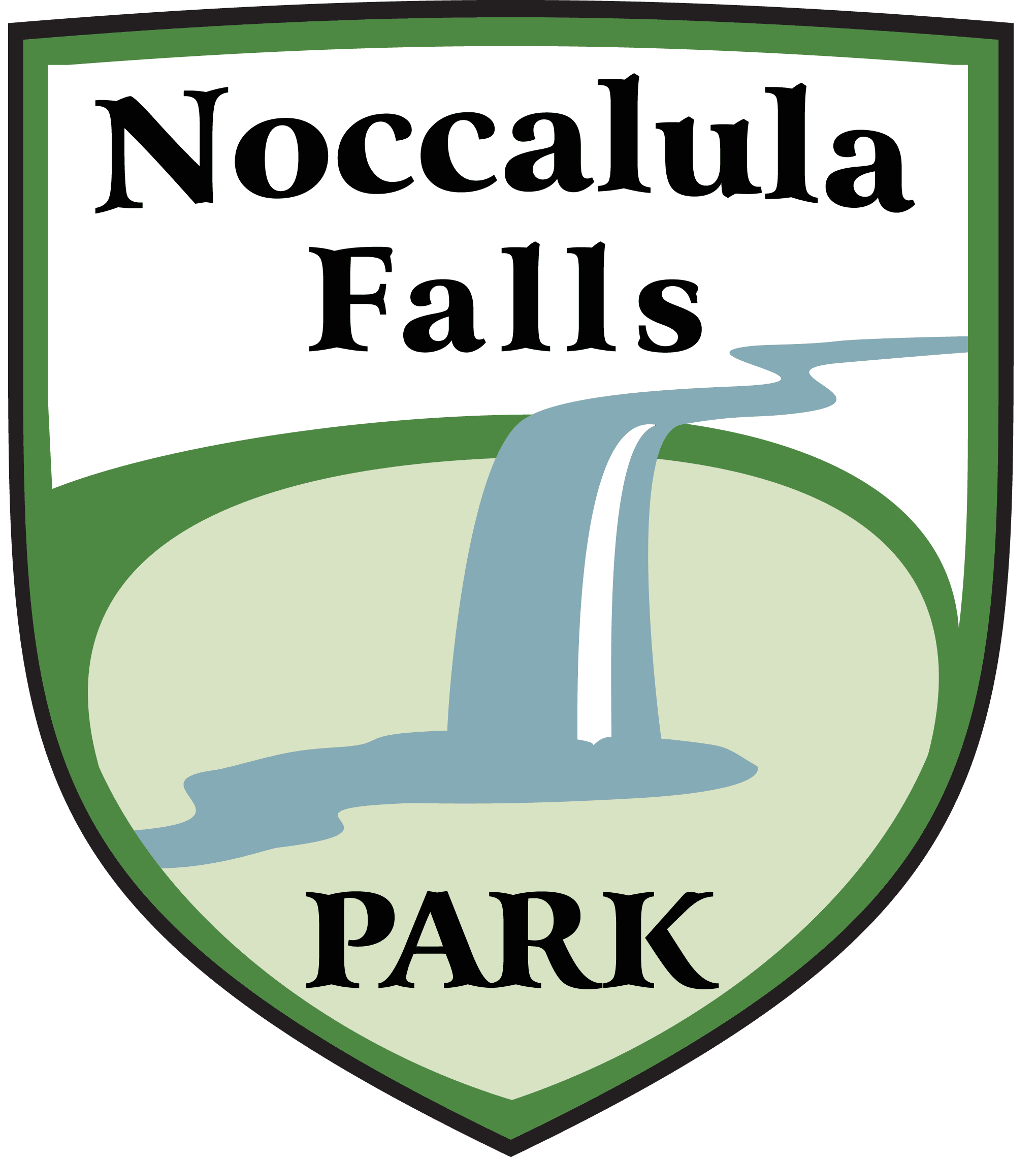 Noccalula Falls - Park logo lighter