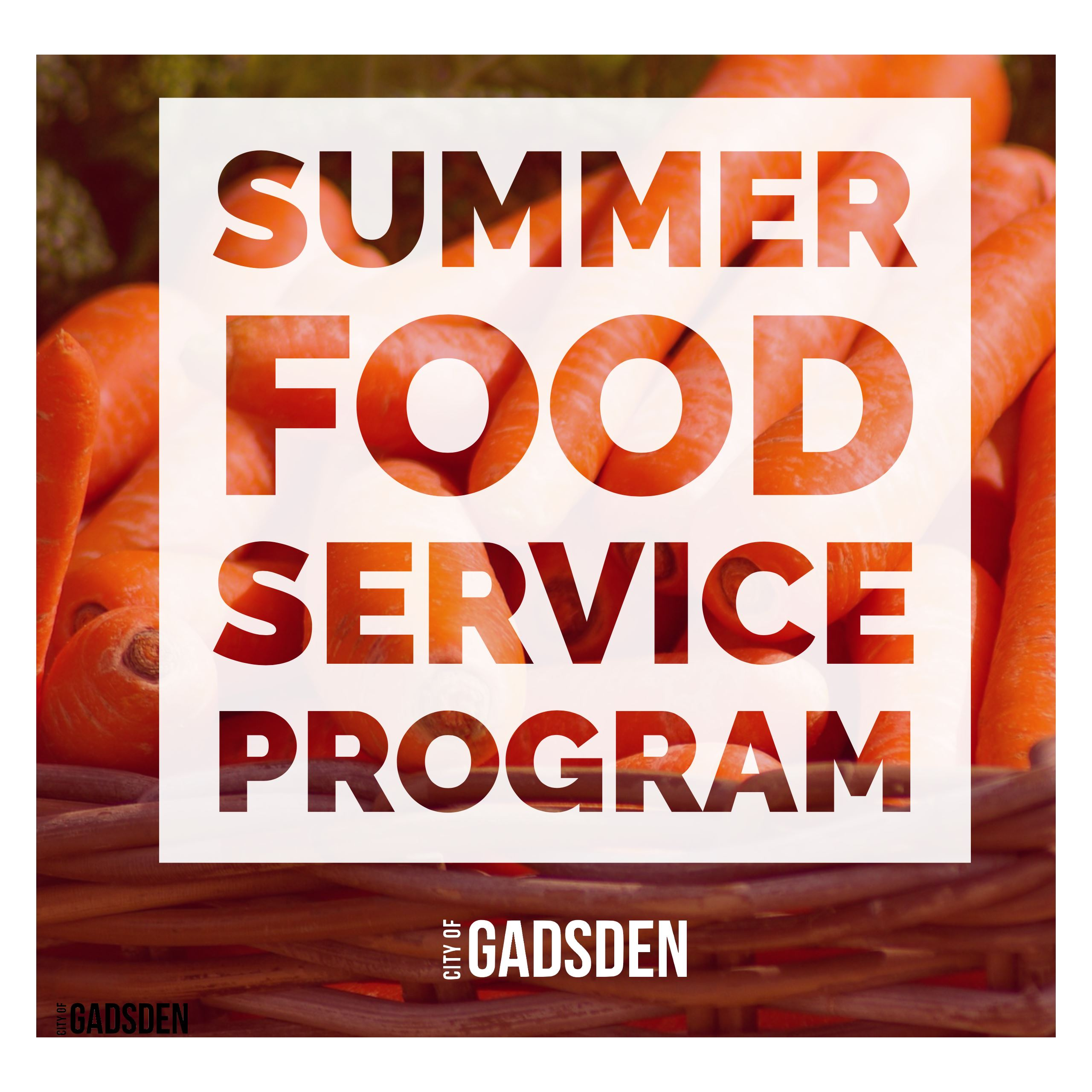 Gadsden, AL— The City of Gadsden is participating in the Summer Food Service Program (SFSP). Any organization located within the city of Gadsden interested ...